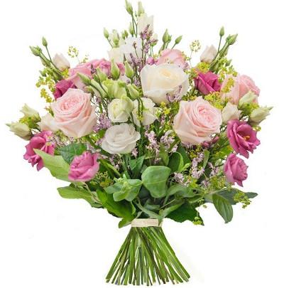 Grafika: bukiet kwiatów