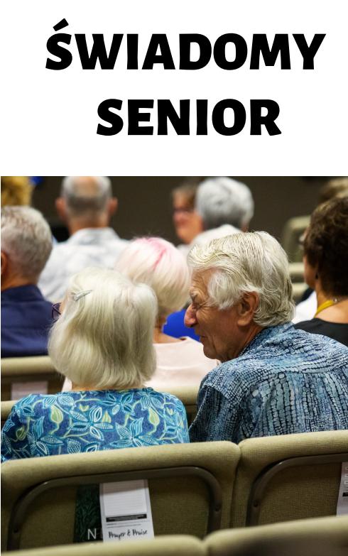 Grafika: Świadomy senior