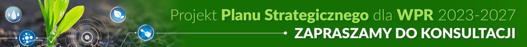 Baner: Planu Strategicznego Wspólnej Polityki Rolnej na lata 2023-2027