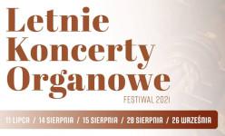 Grafika:  Letnie Koncerty Organowe Festiwal 2021