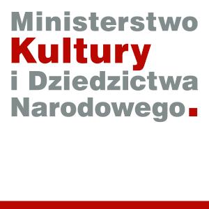 Logo: Ministerstwo Kultury i Dziedzictwa Narodowego