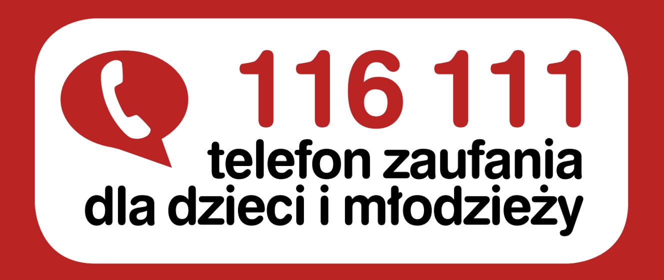 Logo: Telefon Zaufania Dla Dzieci i    Młodzieży
