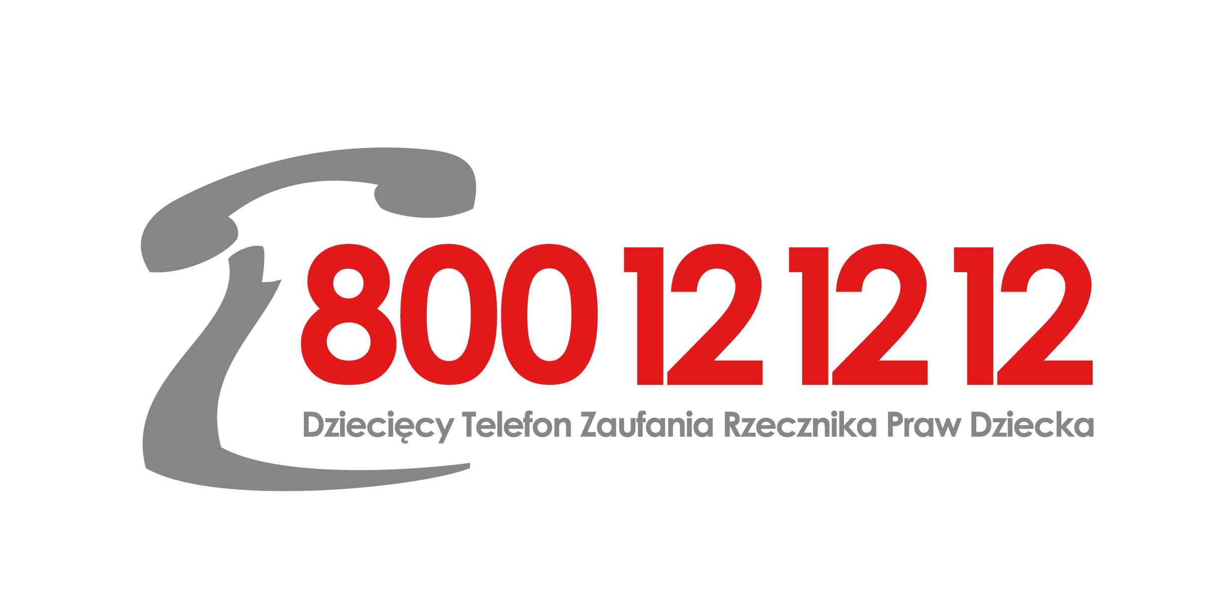 Logo: Telefon Zaufania Rzecznika Praw    Dziecka