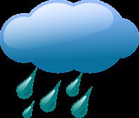 Grafika: Opady deszczu