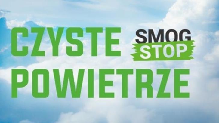 Grafika: Program Czyse powietrze: STOP SMOG
