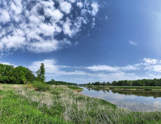 Granice rezerwatu wyznaczają rzeki: Odra, Kaczawa, Boberek i        starorzecze